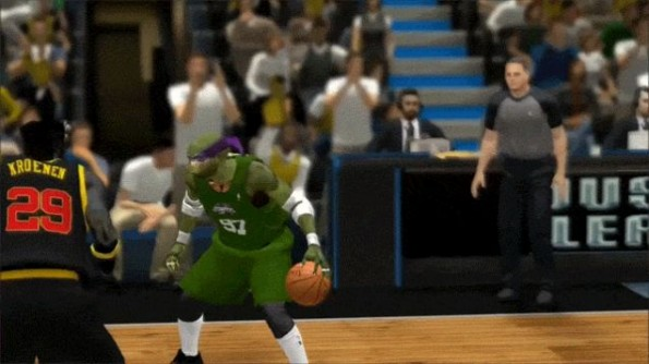 Ninja Turtles NBA2K14 Mod