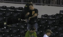 Pirates Fan Has Elaborate Post-Catch Dance (GIF)