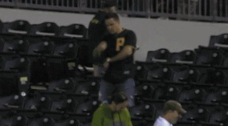 Pirates Fan Dance