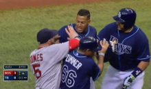 Rays and Red Sox Get Into Bench-Clearing Fight (Video)