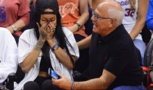 Rihanna Broke a Guy's Phone at Nets Game, Signs It, It Sells for $66,500