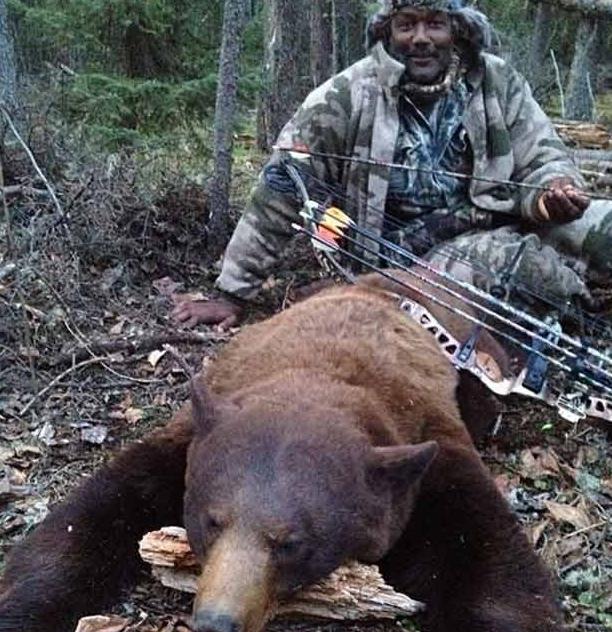 Karl Malone and Bear
