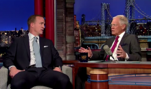 Peyton Manning Sits With David Letterman, Sheds Some Light On 'Omaha' (Video)
