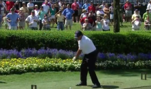 Phil Mickelson, Rickie Fowler, and Dustin Johnson Play No. 17 at Sawgrass with Opposite Hands (Video)