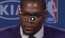 Kevin Durant's Emotional MVP Speech Dedicated To His Mom!