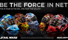 Bauer To Offer Up 'Star Wars' Goalie Masks (Sorry, No Anakins Available)