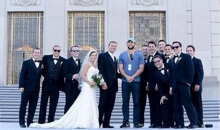 Andrew Luck Walks By Wedding Photo Shoot and Joins The Wedding Party (Pic)