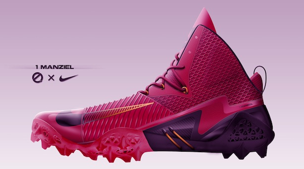 Lebron football shoe