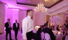 Braves' Freddie Freeman Caught Dancing Like No One's Watching at Dan Uggla's Wedding (GIFs)