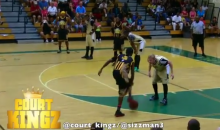 "Streetball Stars ""Hot Sauce"" and ""Baby LeBron"" Annihilate Defender With Crazy Alley-Oop (Video)"
