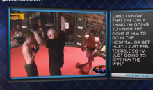 MMA Fighter Taps Out Because His Opponent Was Taking Too Much of a Beating (Video)