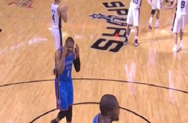 Westbrook tells Durant to Wake Up
