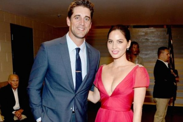 aaron rodgers dating olivia munn
