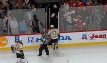 Canadiens Fans Give Boston's Milan Lucic a Garbage Shower After Game 6 Victory (GIF)