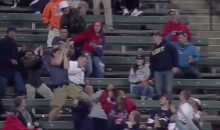 Let's All Laugh at Cleveland Indians Bro Taking a Ball to the Face (Video)