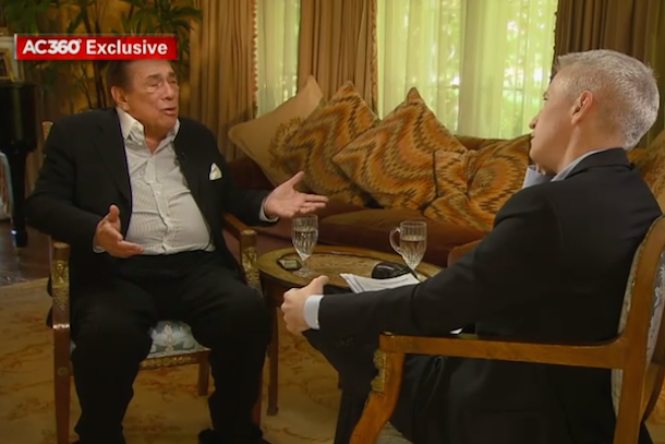 donald sterling interview with anderson cooper
