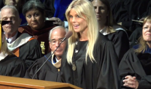 Elin Nordegren Burns Tiger Woods in College Commencement Speech (Video)