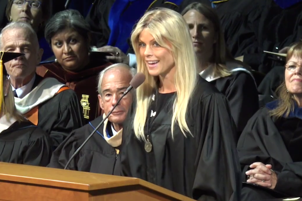 elin nordegren commencement speech rollins