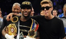 Floyd Mayweather and Justin Bieber Share Romantic Day at the Spa (Video)