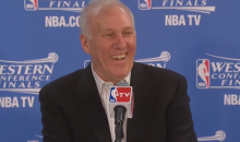 Another Postseason Game, Another Classic Press Conference from Gregg Popovich (Video)
