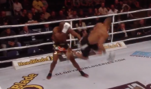Behold This Ridiculously Violent Spinning Jump Kick KO From Glory 16: Denver (Video)