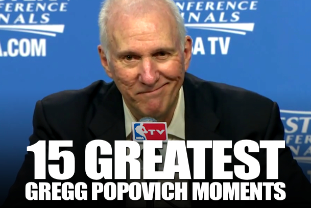 gregg popovich best moments