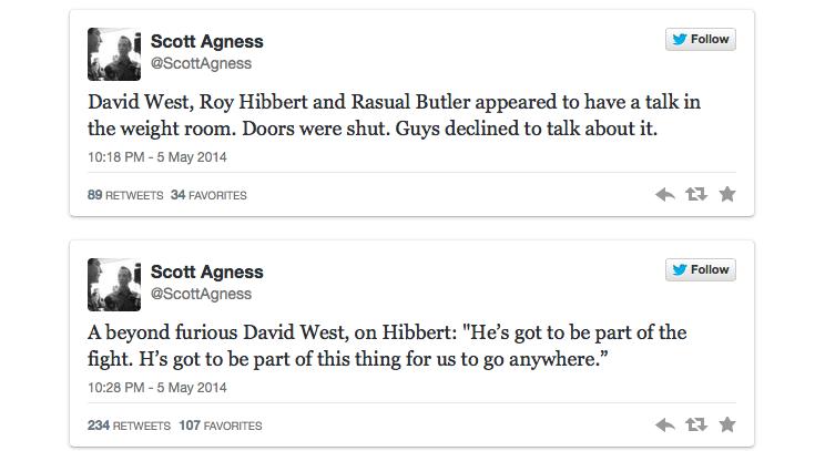 hibbert tweets