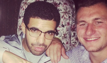 Johnny Manziel Parties with Drake After Round 1 of 2014 NFL Draft (Pics)