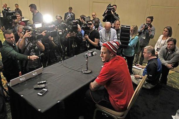 kaepernick press conference