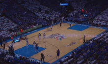 After Power Outage, Thunder and Clippers Play Last 27 Seconds of First Half in the Dark (Video)