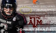 Browns Welcome Johnny Football to Cleveland with Embarrassing Twitter Fail (Pic)