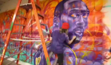 Check Out This Time-Lapse Video of Artist MADSTEEZ Painting a Kobe Bryant Mural