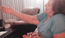 This Miami Heat Grandma Is the Only Heat Fan Anybody Likes (Video)