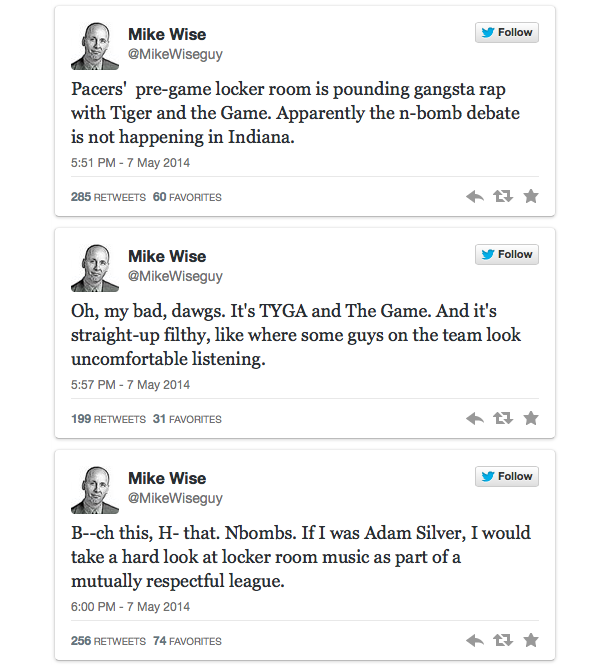 mike wise tweets