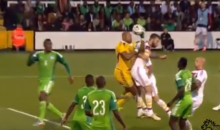 Nigerian Soccer Keeper Throws the Ball Into His Own Net, Sparking Rumors of Match-Fixing (Video)