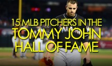 15 MLB Pitchers in the Tommy John Hall of Fame