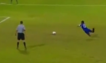 Maldavian Soccer Player Turns Epic Penalty Kick Fail Into Legendary Penalty Kick Goal (Video)
