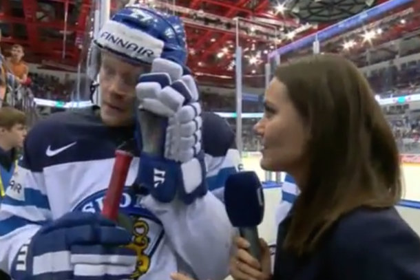 petri kontiola finland terrible postgame interview