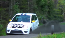 Here's a Terrifying Look at a Cameraman Getting Hit by Rogue Tire at Rally Car Race (Video)