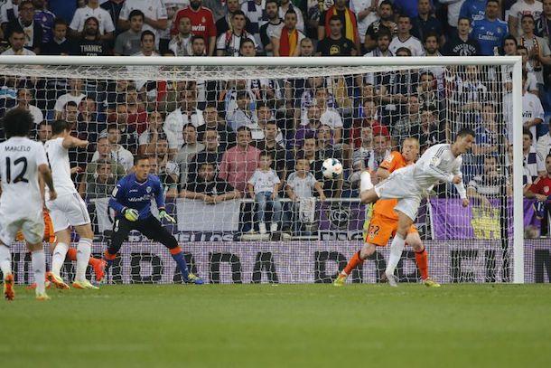 ronaldo backheel goal