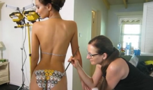 Behind the Scenes Video from SI Swimsuit Body Paint Shoot Will Make Your Week (Video)