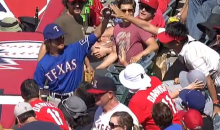 Yu Darvish Doppelgänger Catches Foul Ball Pitched by Yu Darvish (Video)