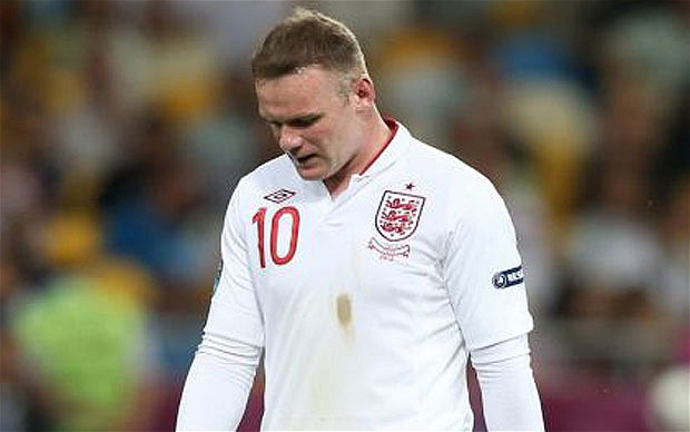 1 wayne rooney england - world cup all-time underperformers