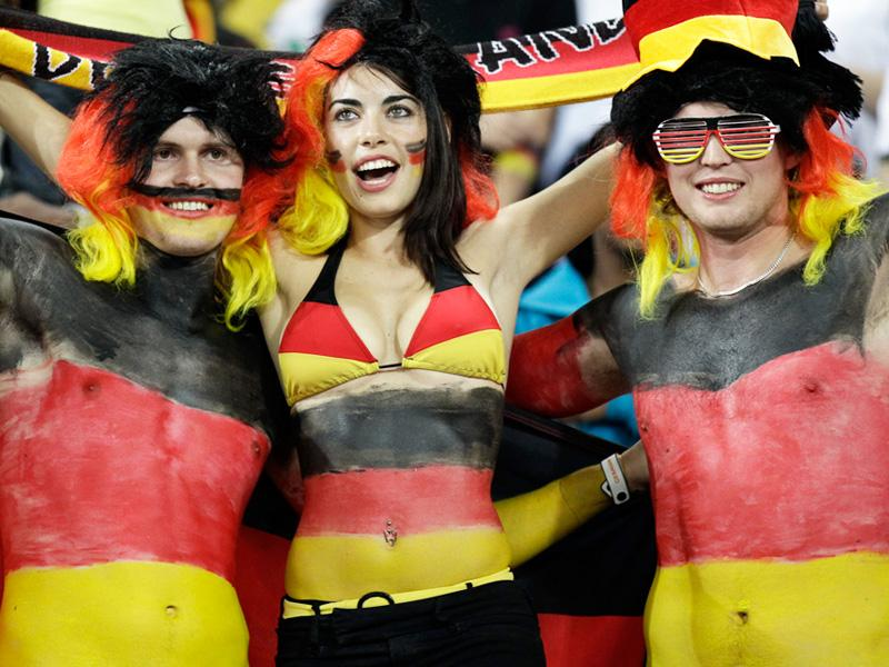 10 germany 2 - hottest fans 2014 fifa world cup