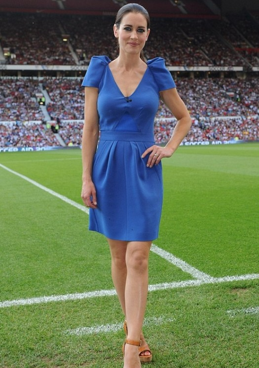 12 kirsty gallacher (sky sports uk anchor) Spor Servisi