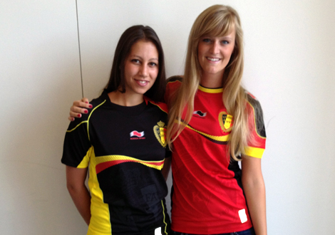 15 belgium 1 - hottest fans 2014 fifa world cup