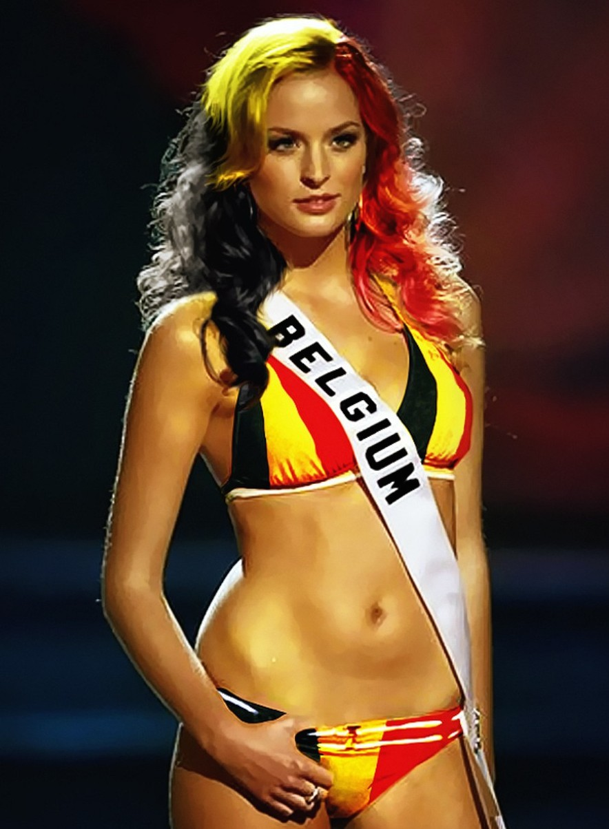15 belgium 2 - hottest fans 2014 fifa world cup