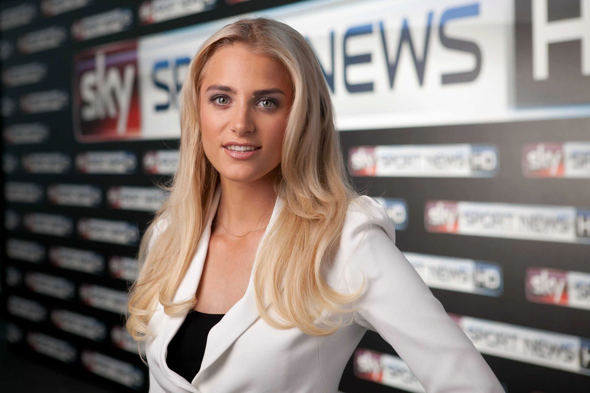16 anna kraft (sky deutschland germany) - hottest soccer reporters from around the world