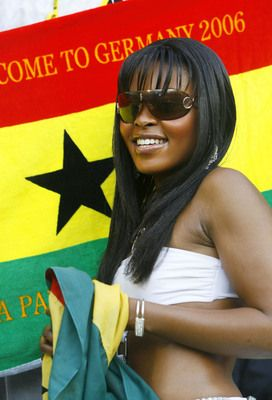 16 ghana 1 - hottest fans 2014 fifa world cup