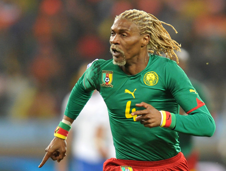 19 ribobert song (cameroon 2002) - greatest world cup hairdos